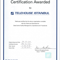 Telehouse Cert 200x200 OUR STANDARDS