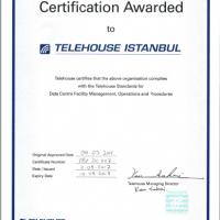 Telehouse Cert 200x200 معاييرنا